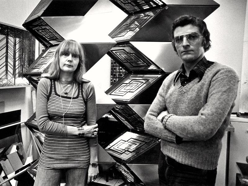 1975--Frans-&-Marja-in-het-atelier