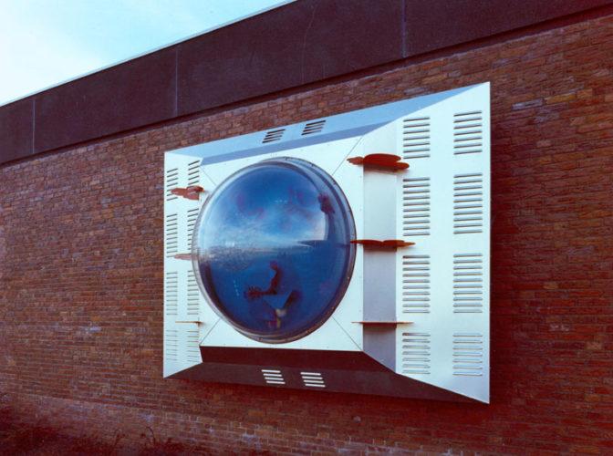 1970  Leidschendam Sportcentrum De Fluit  kinetisch object