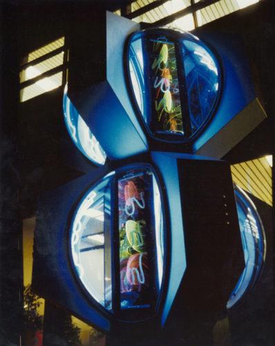 1974  Velsen  Provinciaal Electriciteitsbedrijf Noord-Holland kinetisch object