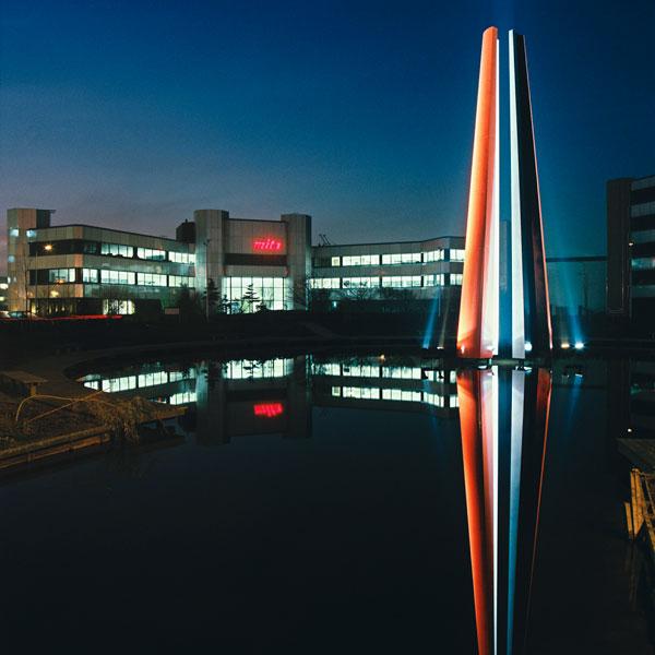 1994  Hoofddorp  kantoorcomplex Schiphol-West  Red Silver Black
