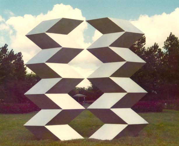 1974 Schakelobject 1 ijzersculptuur