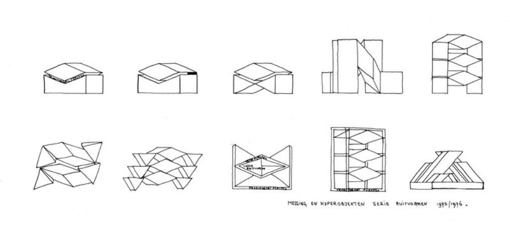 1975-1976 Tekening schakelopbjecten