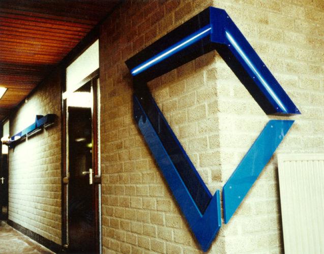 1977  Utrecht  vormingscentrum De Spoen lichtobjecten