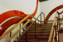 1978  Leeuwarden  Scholengemeenschap Voortgezet Onderwijs polyester wandobjecten