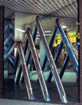 1981  Haarlem  winkelcentrum Brinkmann Passage lichtobject