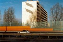 1986  Amstelveen grafisch ontwerp twee flatgebouwen