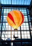 1996  Groningen  Academisch Ziekenhuis UMCG Light Balloon  in de patio kinderziekenhuis